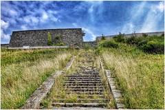 Treppe... (BKFofOF) Tags: abandoned eifel ruine architektur nrw vogelsang militaer x100t fujifilmx100t fujix100t