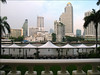 Peninsula Patio River View, Take Two (suavehouse113) Tags: urban skyline architecture buildings river thailand cityscape bangkok lawn tables highrise alfresco lateafternoon philscamera chaophrayariver statetower thepeninsulahotel thepeninsulabangkok rivercafeandterrace