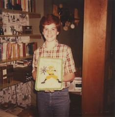 fourteen (davebias) Tags: birthday polaroid 1982 600film roidweek2015 autumnroidwek2015