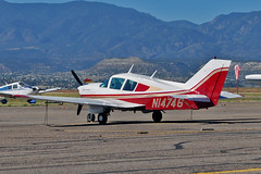 Bellanca 17-31A Super Viking N14746 (skyhawkpc) Tags: copyright nikon colorado allrightsreserved bellanca superviking 1731a fremontcountyairport 1v6 k1v6 gverver 7532156 n14746