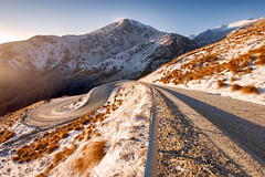The Icy Road Up || THE REMARKABLES || QUEENSTOWN (rhyspope) Tags: road street new morning winter sun white snow pope cold ice grass canon island town spring track south sigma queens zealand nz 1020 remarkables rhys 500d rhyspope