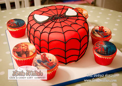 Spiderman Cake by Little Millie's-1.jpg (Gary Sulter) Tags: birthday cake cupcakes norfolk spiderman super celebration hero wwwlittlemilliescom