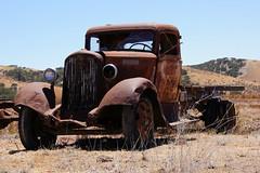 One Eye Blind (nedlugr) Tags: california ca rust dry dodge ruraldecay dodgetruck dodgebrothers jolon ruralwest omot dryasdust