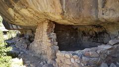 Cliff dwellings in Walnut Canyon NM