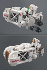 NASA Speeder (halfbeak) Tags: starwars lego space nasa rey speeder theforceawakens reysspeeder pimpreysspeeder