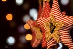 (--marcello--) Tags: christmas stilllife stars lights bokeh felt christmaslights luci feltro stelle christmasstars