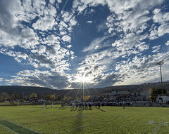 Community Stadium (acase1968) Tags: sun oregon lens ed star la grande football community nikon university cloudy stadium sunny d750 20mm nikkor eastern afs naia partly f18g