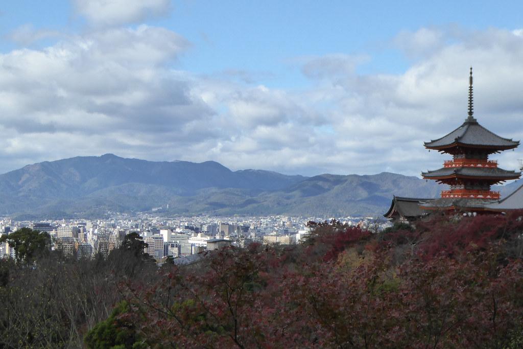 Temple skyline