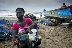 Ghana- June 2014 (mcspglobal) Tags: ghana woman baby breastfeeding mother