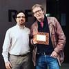 """1 Estrella Michelín 2 Soles Repsol 1 Restaurante COMPROMETIDO y SOLIDARIO  Bernd H. Knöller, Chef del Restaurante RIFF, recibe el distintivo de Colaborador de la Campaña #AceiteSolidario de manos de Albert Gimeno, director de la ONG Padres 2.0 • <a style=""""font-size:0.8em;"""" href=""""http://www.flickr.com/photos/69838677@N04/23159309111/"""" target=""""_blank"""">View on Flickr</a>"""