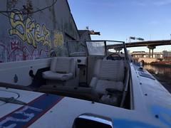 IMG_5485 (Hypurban) Tags: nyc newyork abandoned brooklyn graffiti head warehouse wax smells abandonedwarehouse brooklyngraffiti waxhead graffitiyard cash4