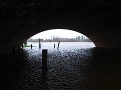 Storm Desmond . Flooded Footpath (CAMRA Man ...) Tags: wild rain weather wind carlisle floods rivereden rickerby stormdesmond
