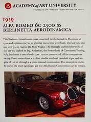 1939 Alfa Romeo 6C 2500 SS Berlinetta Aerodinamica 'MI.49865' Info (Jack Snell - Thanks for over 26 Million Views) Tags: sf auto show ca 58th wallpaper art cars wall vintage paper san francisco display ss center international alfa romeo collectible moscone 6c 1939 2500 berlinetta aerodinamica excotic jacksnell707 jacksnell accadomy mi49865