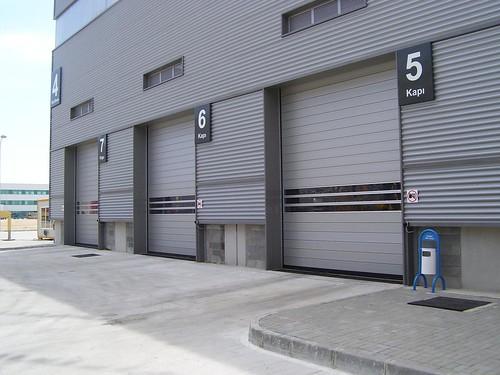 Швидкі ворота для автомобільної промисловості. Высокоскоростные ворота. Hi speed doors. Efaflex. 100_0622