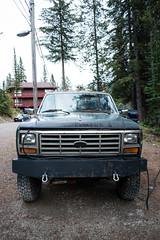 ford - the great divide lodge, bc (alemjusic) Tags: travel canada ford car vancouver britishcolumbia adventure alberta oldtimer banff adventuremobile