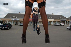 found (iffelbuffer) Tags: found high women looking boots down heels stony caught plain giantess giantesses iffelbuffer