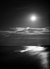 Moon Lit Night (NEXtographer) Tags: night dream milkyway a7rii fe35mmf14za people moon sony bokeh mirrorless light clouds blackandwhite emount monochrome beach stars dreams travel picnic lightbeams waves sand seascape nightscape color galaxy endlesssummer outdoor sky
