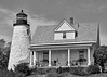 Castine (prashantaggarwal) Tags: large 0812 blackandwhite castine lighthouse maine silverefex vacation usa