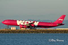 WOW! (320-ROC) Tags: wow wowair tfgay airbusa330 airbusa330300 airbusa330343 airbus a330 a330300 a330343 a333 ksfo sfo sanfranciscointernationalairport sanfranciscoairport sanfrancisco