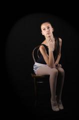Iva (bojanstanulov) Tags: contemporary ballet light studio girl portret ballerina balerina balet