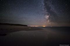 Star Reflections & Milky Way (zackesvensson) Tags: milky milkyway astrophoto astronomy stars gotland sweden canon longexposure highiso iso reflections