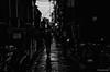 A Suspicious Street - Kyoto City (snakecats) Tags: 京都市 京都府 日本 京都 kyoto kyotocity kyotoprefecture japan 通り 路地 suspicious street 白黒 黒白 白黒写真 黒白写真 モノクローム モノクロ monochrome blackandwhite bw