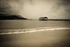 Kauai 2016 (chiarina606) Tags: kauai hawaii island islandlife blackandwhite chiarinaloggia hanalei hanaleibeach beach hanaleipier pier balihai