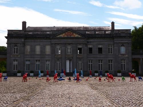 Expo au château de Seneffe