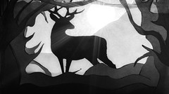 MM: Just White Paper: (Not a drawing please Read Description) [Explored 17-01-2017] (Mark Photography 2017) Tags: animal animalia artificial arts back beast black body bokeh cervidae close closeup collage color composition crafts cut cutout deep deer detail earth effect exposure feature flare focus forest formation framing front gray horizontal indoor interior land landscape lens life light lighting long macro macromondays mammal mammalia material mondays moon natural orientation out panorama paper photography rays setting shade shadow silhouette skyline stag star style sun trail up view white wild wildlife woods woodslands