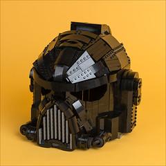Space Marine 3 (timofey_tkachev) Tags: lego space marine helmet warhammer 40k 40000 wh40k