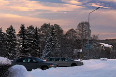 Winter Sunset (Linnea from Sweden) Tags: winter sunset canon eos 1100d efs 55250mm f456 is 456