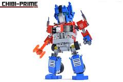 3. Chibi-Prime Energon Axe (Sam.C MOCs (S2 Studios)) Tags: lego transformers optimus prime chibi moc mech robot anime scifi car truck