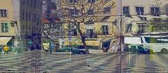 Lisboa, Praça do Rossio (Lucia Cysneiros) Tags: portugal lisboa praçadpedroiv rossio reflexos réflections reflexions