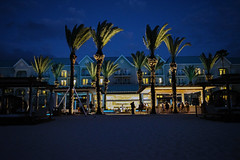 Evening at the hotel (nydavid1234) Tags: nikon d600 nydavid1234 cayman grandcayman westin hotel westingrandcayman evening beach landscape palmtrees caribbean tropical wideangle sand
