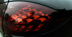 detail (roberke) Tags: red rood detail closeup car auto automobiel reflections reflecties outdoor achterlicht