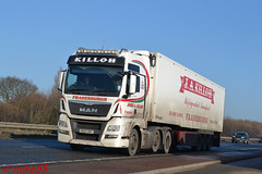 MAN TGX 'James A. Killoh Transport' reg WX14 ZMY (erfmike51) Tags: mantgx truck artic fridgetrailer lorry jamesakillohtransport