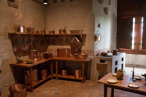 Les cuisines du Château de Chambord
