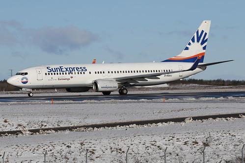 SunExpress Germany Boeing 737-86N(WL) D-ASXJ 170223 ARN