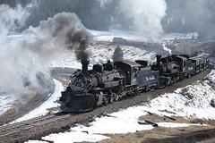 Tanglefoot Curve (dayvmac) Tags: steamlocomotives cumbres cumbresandtoltecscenic tanglefootcurve colorado trainscolorado steamrailroads