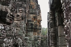 Angkor Wat Bayon faces - Cambodia