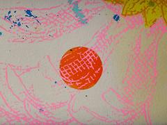 DSC0966889 (scott_waterman) Tags: scottwaterman painting paper ink watercolor gouache lotus lotusflower detail