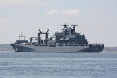 Deutsche Marine: Einsatzgruppenversorger A 1411 BERLIN in der Neustädter Bucht vor Sierksdorf (Helgoland01) Tags: marine einsatzgruppenversorger ostsee