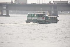 Bateau-bus à Abidjan