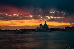 Tonights sunset over Venice, Italy (martintimmann) Tags: water sundown sky venice italy romance architecture sea venezia veneto italien it