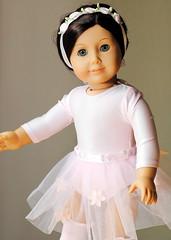 Ruthie, Dancing (Rosebud_03) Tags: doll dancer ballet dancing americangirl tutu costume ruthie girl