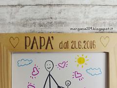 Cornice festa del Papà_05w (Morgana209) Tags: fathersday festadelpapà cornice portafoto legno pirografo handmade faidate pyrography regalo speciale dono bambini papà padre creatività pensierispeciali