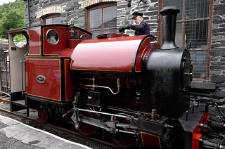 L2015_3096 - Corris Railway #7 at Maespoeth