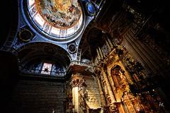 Haro, La Vega (Philippe Marcenat) Tags: espaa church spain nikon basilica iglesia sigma chapel baroque vega rioja barroco haro retablo altarpiece sigma1020 nikond5200 federuizp basilicavirgendelavegaharo