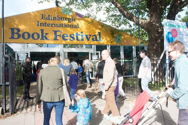 Gates open to the Book Festival