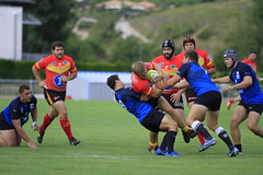Millau - Espoirs Montpellier (Sarah Thuault-Ney) Tags: sport canon play rugby som millau jeux mhr sportcollectif matchamical parcdessports canon7d somrugby espoirsmontpellier